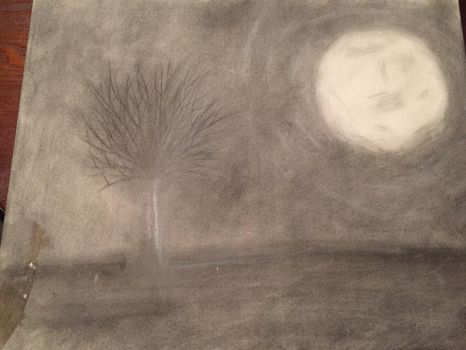 Charcoal doodle 1 by madam3gr33n