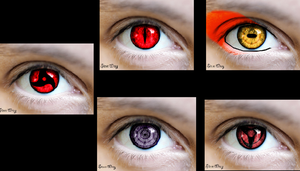 Naruto Eyes by Stevewray11