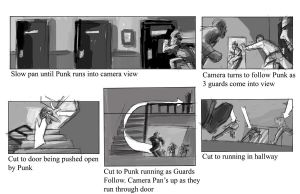 Winter King Scene 1 Page 1 Storyboard by gzapata