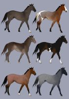 Designs for Mustang-Mad by abosz007