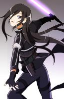 Kirito GGO by AnimeandCartoonFan