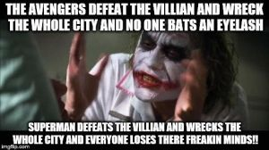 TGRebels Fan-Dumb Meme 2: Marvel vs. DC by TGrebel2