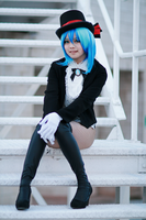 Hatsune Miku Miracle Paint Cosplay by SpicaRy