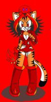 Taily the Fire Tiger by LauryPinky972