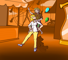 Style Challenge 5 - Ghost Trick - Kelsie and Emma by FrigidMan