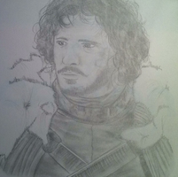 Jon Snow by FrO-ozeN