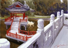 Gardens of the Qing Emperor by polkapills
