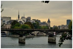 Paris - 13- bridge on river seine by etr-wroclove