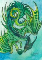 ACEO Dragon 35 by rachaelm5
