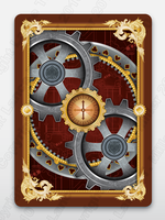 Final Version of BICYCLE Actuators Steampunk Deck by multimiller