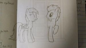 Doctor and Derpy by thecatteam