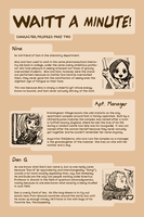 WAITT: Character Profiles 2 by e1n