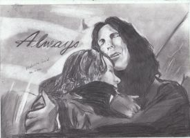 Severus Snape Always by MelieseReidMusic