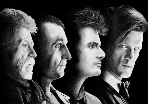 Graphite : The Day of the Doctor by aster1210