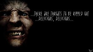 Harry Potter Wallpaper : Greyback Quote! v2 by TheLadyAvatar