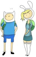 Fionna and Finn by Lansoh