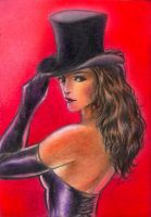 Burlesque Sketch card 6 by huy-truong