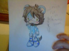 OLD SONIC OC: sik the lion by saltycuccumbers