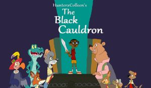 HunterxColleen's The Black Cauldron Poster 1 by HunterxColleen