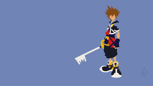 Sora Kingdom Hearts 2 by Oldhat104