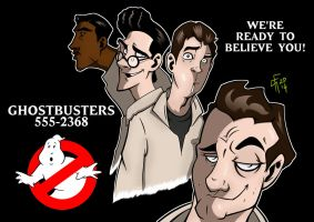 Ghostbusters by Kendal14