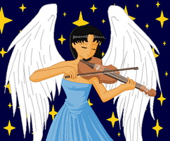 Sheilouise the Violinist by DaisyGirl3000