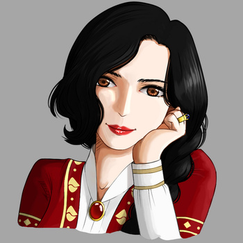 Lady Portrait by umbracatervae777