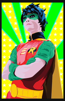 Twin Fools's Tim Drake by digital-strike