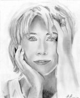 Emma Thompson part 1 by RiaArt