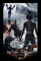 Resident Evil Retribution Movie Poster by ToHeavenOrHell