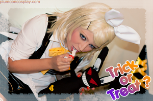 Rin Trick Or Treat by plu-moon