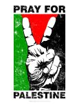 PRAY FOR PALESTINE by widjana