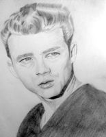 James Dean by sickascancer