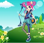 Friendship Games Sour Sweet Archery Style by kimpossiblelove