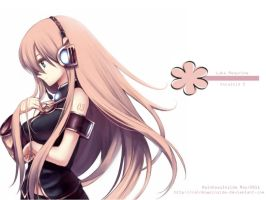 Vocaloid Wallpaper- Luka by RainbowsInside