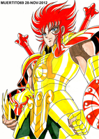 GENBU DE LIBRA-SAINT SEIYA OMEGA (MARKER-COLOR) by MUERTITO69