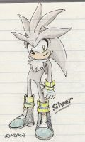 Silver the Hedgehog - scan'd by kukalive