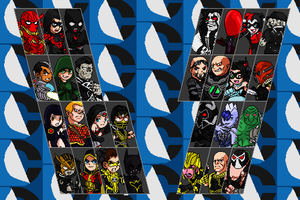 IGAU Fighter Select Pixel Style Alt. Costumes by jc013