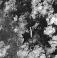 Costa Concordia from space by jswis