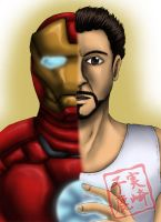 I Am Iron Man by kojika