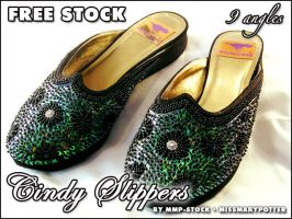 FREE STOCK Cindy Slippers PACK by mmp-stock