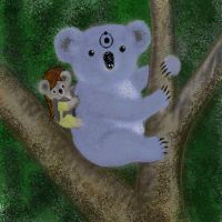 Koalahattan and Koala Spectre by wraith-six