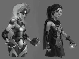 Character Sketching by salahh