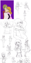 .:WIP Sketchdump:. by EriaHime