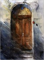 A door from Cieszyn by sanderus