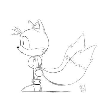 Tails on the side by robertamaya