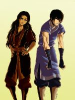 06 Wearing Each Other's Clothes: Zutara by ArtCrawl