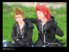 Axel - With Demyx by OblivionOrNot