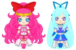 Precure Color Me Challenge Entry by angelthewingedcat