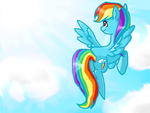 Rainbow dash by coconut-13sol